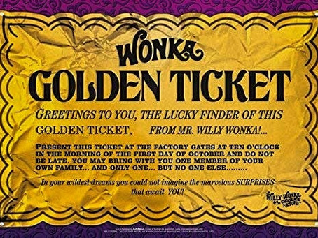 Covid-19 and Willy Wonka's Golden Ticket