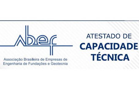 Conheça o regulamento do atestado de capacidade técnica da ABEF