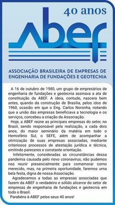 ABEF 40 anos