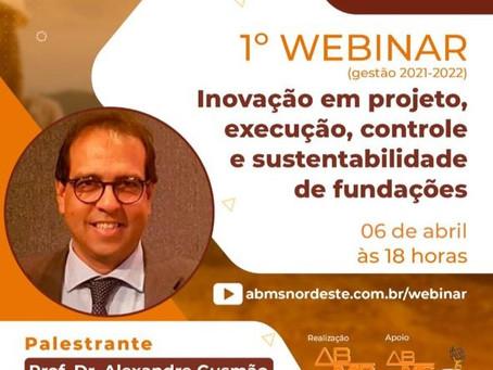 Palestra com o Prof. Dr. Eng. Alexandre Gusmão