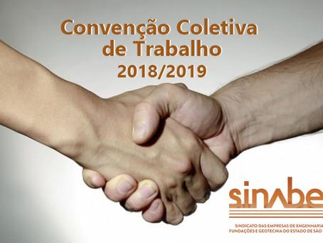 SINABEF divulga as principais cláusulas daConvenção Coletiva de Trabalho 2018/2019