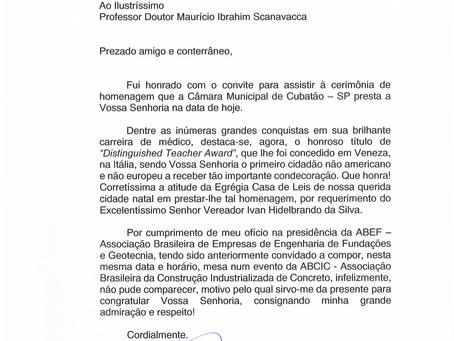 Cardiologista brasileiro é condecorado na Itália