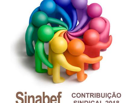 CNI divulga tabela da contribuição sindical de 2018