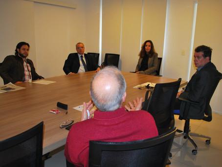 SINABEF recebe candidata Andrea Décourt  para conhecer suas propostas