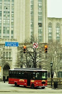 Molly's Trolleys at Cathedral of Learning at the University of Pittsburgh