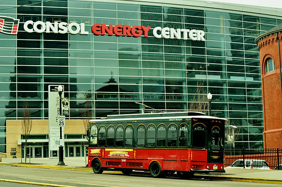 Molly's Trolleys at Consol Energy Center Pittsburgh Penguins