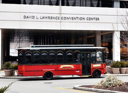 Molly's Trolleys at David L. Lawrence Convention Center Pittsburgh