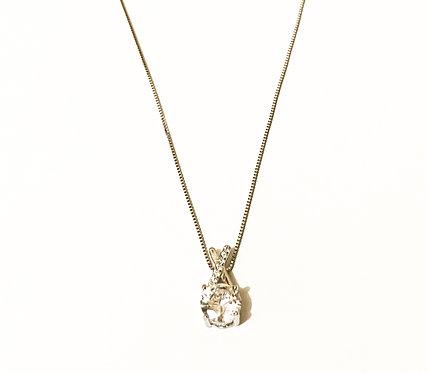 Sterling Silver Modern Cross Necklace