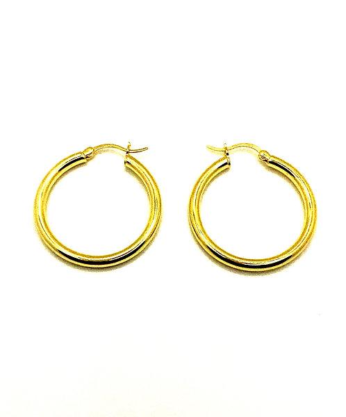 Lola Thick Hoop Earrings
