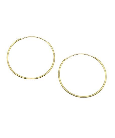 Dara 30mm Sleeper Hoop Earrings