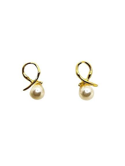 Fola Twist Knot Stud Earrings