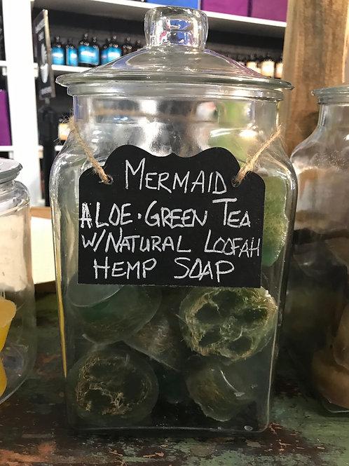 Mermaid Loofah Soap