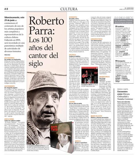 Cultura- El Mercurio - Diario Impreso
