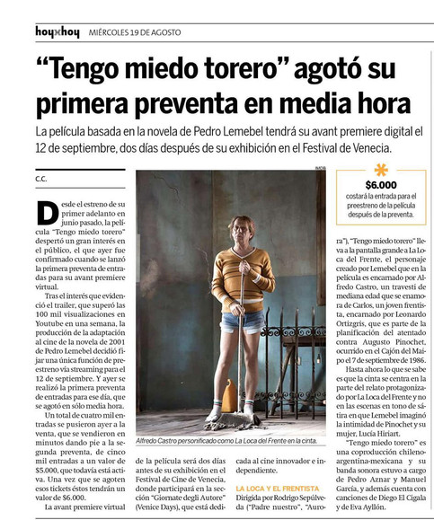 Hoy x Hoy - Diario Impreso
