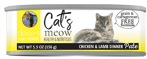 Cat's Meow Chicken with Lamb Canned Cat Food