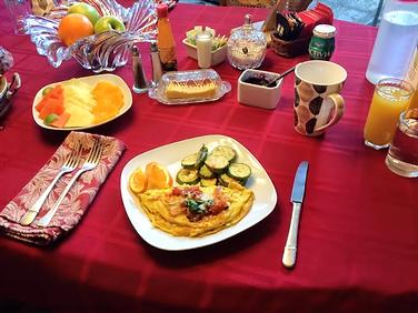 Pre ordered hot Breakfast
