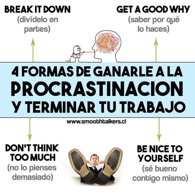 4 técnicas para ganarle a la procrastinación y terminar tu trabajo