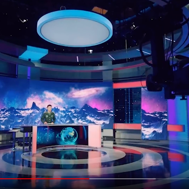 CCTV-7 Military Channel Studio