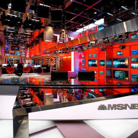 MSNBC World Headquarters Studio
