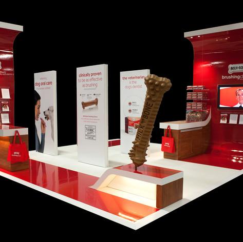 Milkbone Tradeshow Exhibit