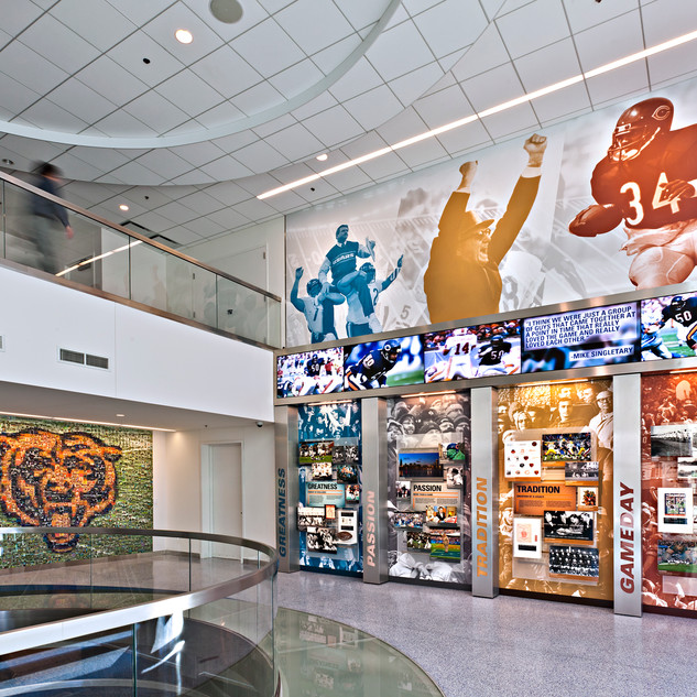Chicago Bears HQ Environment
