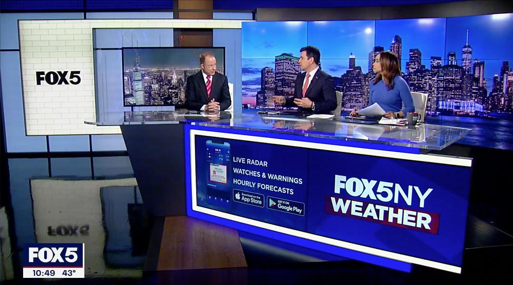 FOX5 Newscast Studio