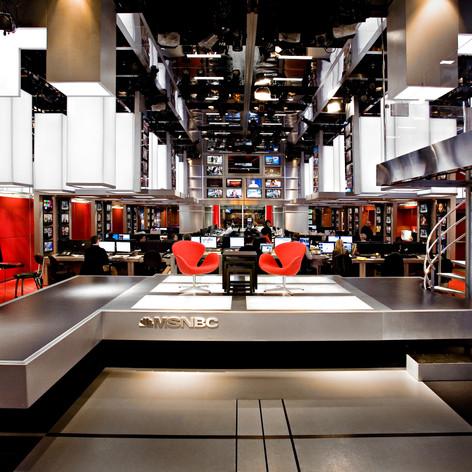 MSNBC World Headquarters Newsroom & Studio