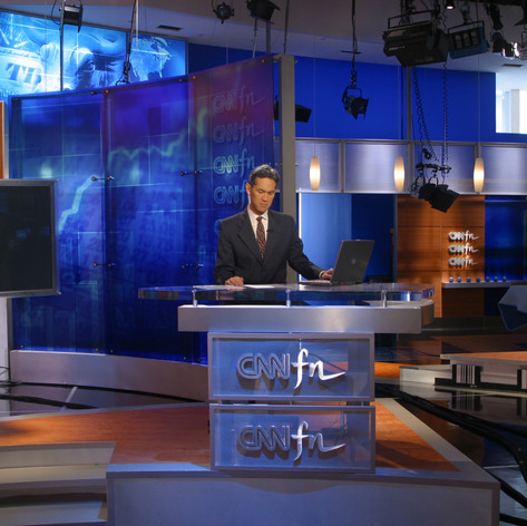 CNNfn Headquarters Studio