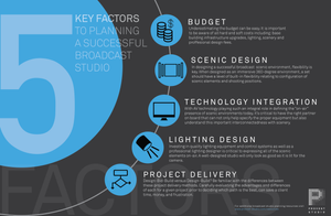 5 Key Factors to Planning a Successful Broadcast Studio