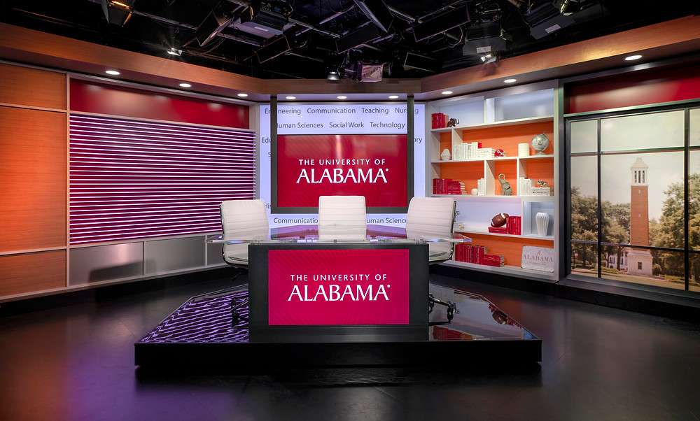 University of Alabama Webcast Studio