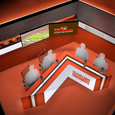 Cleveland Browns Podcast Studio