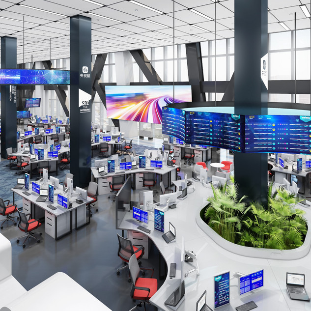 CCTV New Media Newsroom
