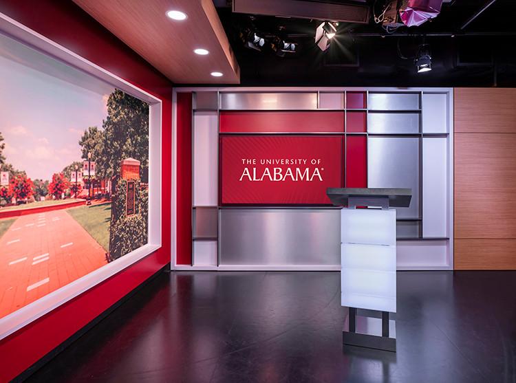 University of Alabama Webcast Studio