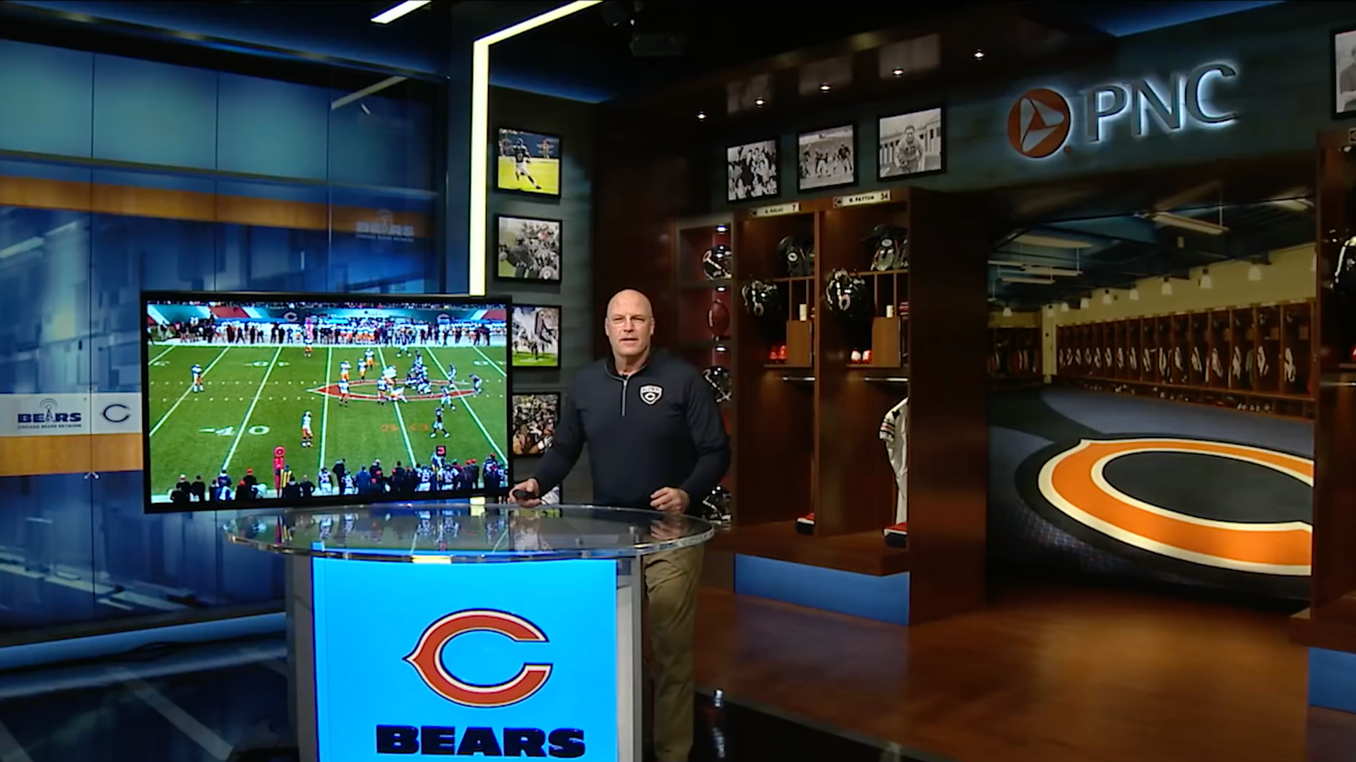 Chicago Bears Studio Video