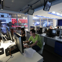 TV9 Headquarters Studio & Newsroom