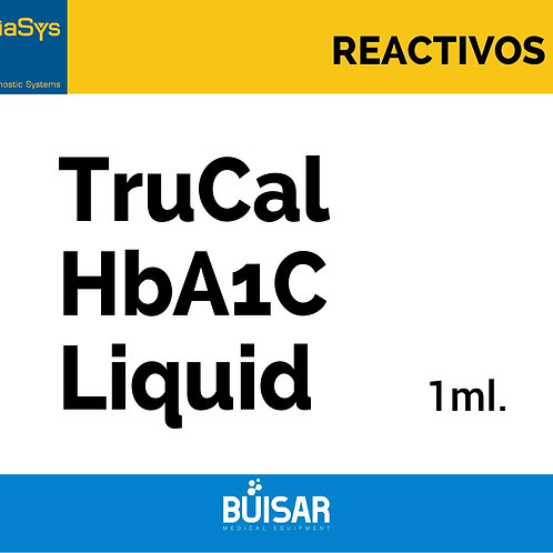 TruCal HbA1C Liquid 1 ml