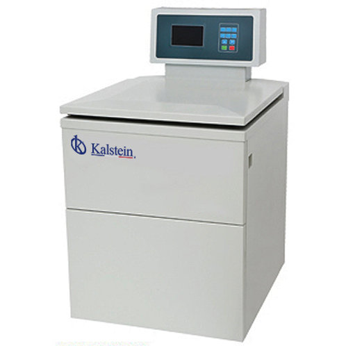Centrifugadora refrigerada de alta capacidad con pantalla LCD