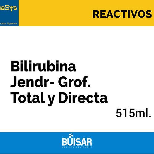 Bilirubina Jendr- Grof. Total y Directa