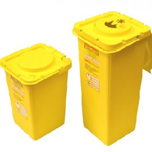 Caja para desechos cortopunzantes Superior