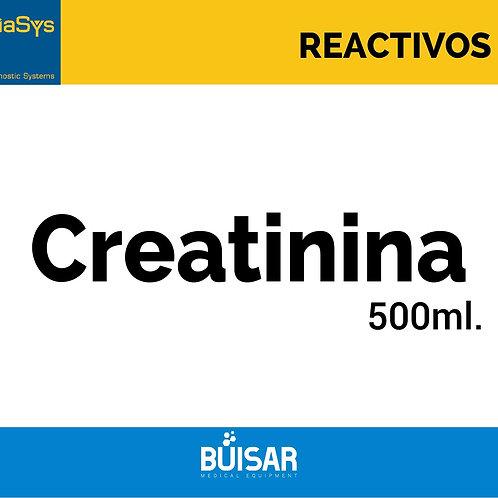 Creatinina 500 ml