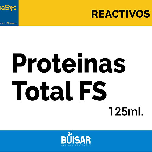 Proteinas Total FS 125 ml