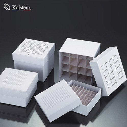 Caja para crioconservacion de cartón