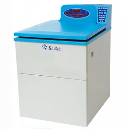 Centrifugadora refrigerada de alta velocidad con pantalla LCD.