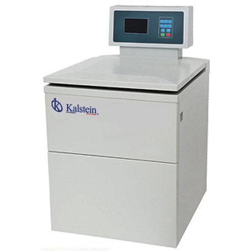 Centrifugadora refrigerada de alta capacidad con pantalla LCD.