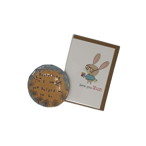 Everything I am mini dish and card