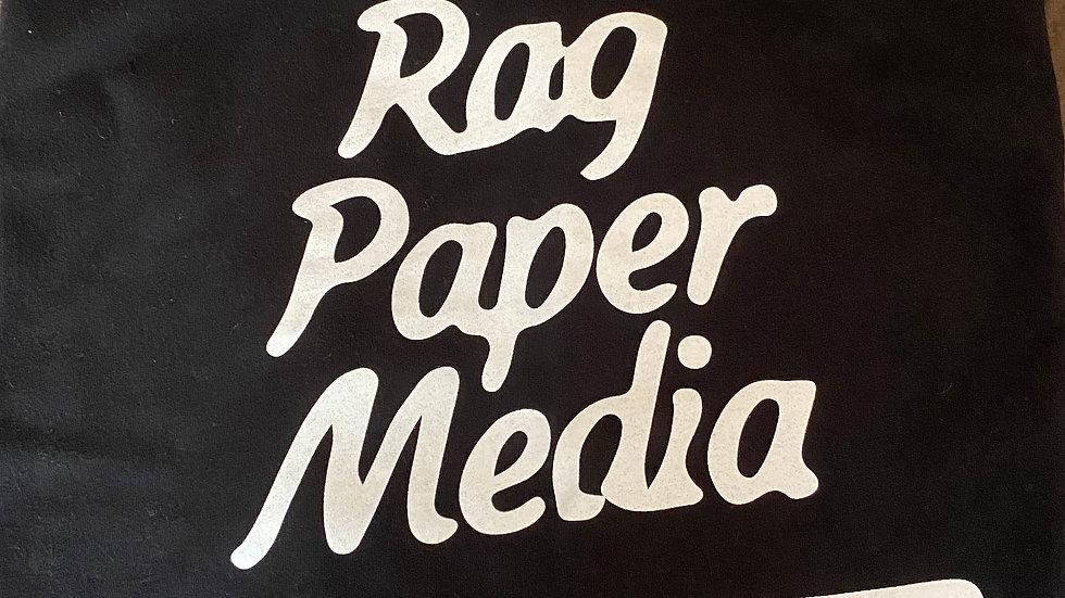 Ragpapermedia Podcast T-Shirt Black