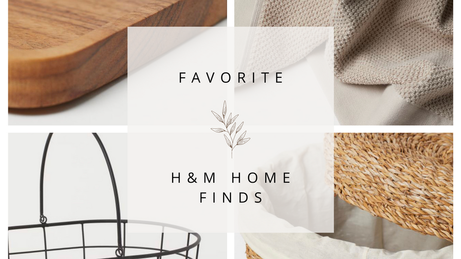 Favorite H&M Home Finds