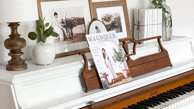 Beautiful Piano Makeover Using Paint and Wax Stain
