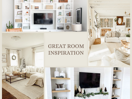 Inspiration for the Great Room