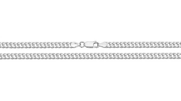 """Silver 18""""Curb Chain"""